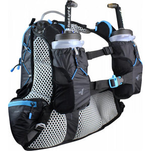 Raidlight Ultra Legend 12L: Black/Electric Blue-Backpacks & Bags-One Size-Likeys