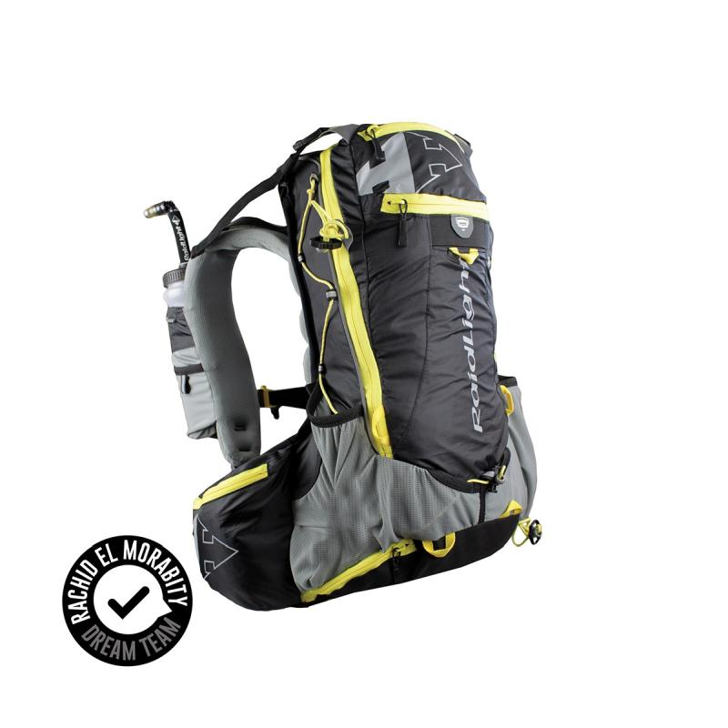 Raidlight Ultra Olmo 20L: Black/Yellow-Backpacks & Bags-One Size-Likeys