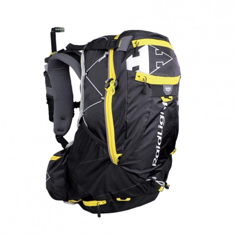 Raidlight Ultra Olmo 30L: Black/Yellow-Backpacks & Bags-One Size-Likeys