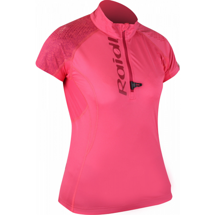 Raidlight Women's Performer SS Top: Grenadine/Bordeaux