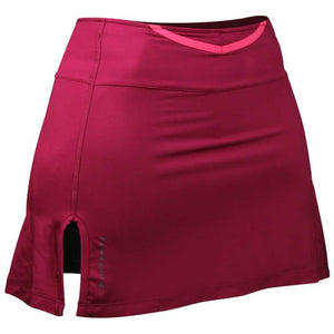 Raidlight Women's Trail Raider Skort: Bordeaux-Shorts-Likeys