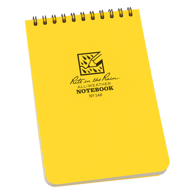 "Rite in the Rain Universal Notebook Top Spiral Bound 4"" x 6""-Equipment-One Size-Likeys"