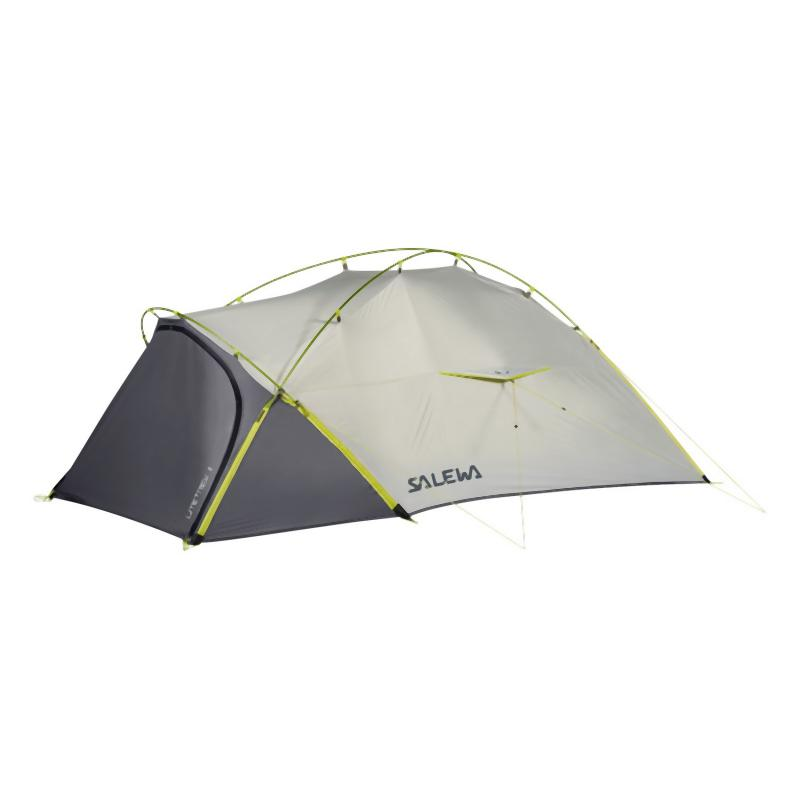 Salewa Litetrek II Tent: Light Grey/Cactus-Shelter-One Size-Likeys