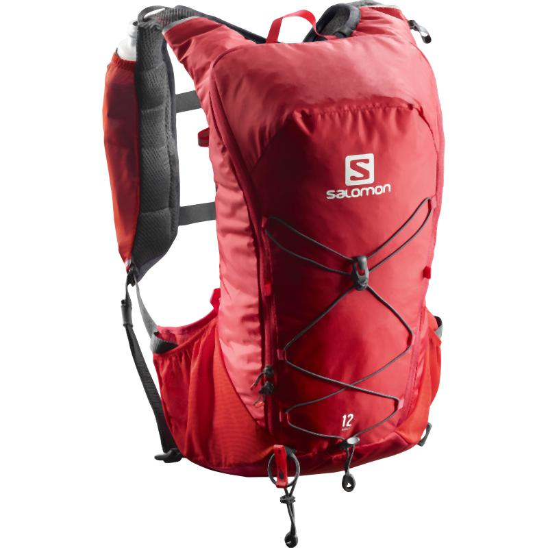 Salomon Agile 12 Set: Barbados Cherry/Graphite-Backpacks & Bags-One Size-Likeys
