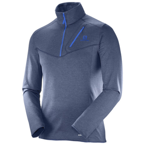 Salomon Men Discovery HZ: Dress Blue-Fleeces-Likeys