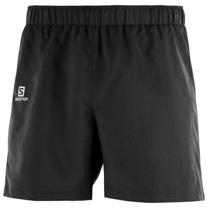 Salomon Men's Agile 5 inch Short: Black-Shorts-Likeys