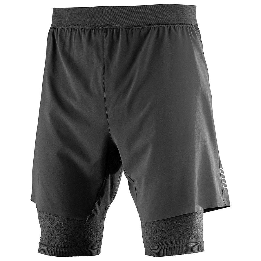 Salomon Men's Exo Motion Short: Black-Shorts-Likeys