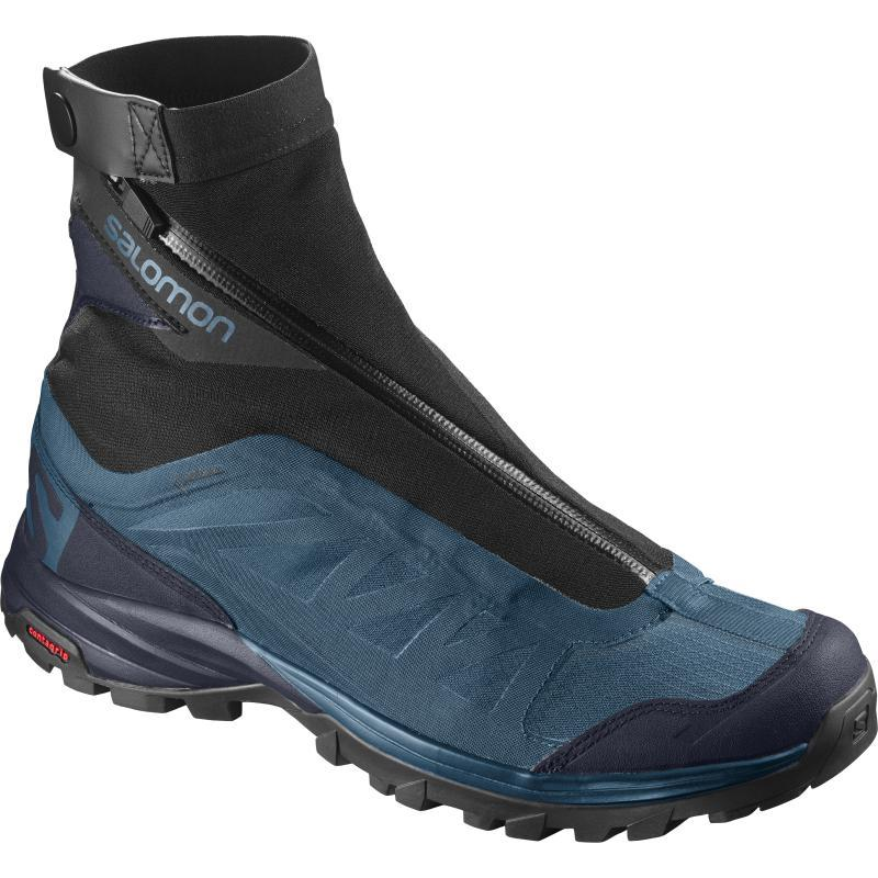 Salomon Men's OUTpath Pro GTX: Moroccan Blue-Trekking Shoes-Likeys