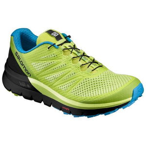 Salomon Men's Sense Pro Max: Lime Punch/Black/Hawaiian Ocean-Trail Running Shoes-Likeys