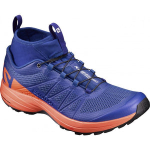 Salomon Men's XA Enduro: Surf The Web/Flame/Black-Trail Running Shoes-Likeys