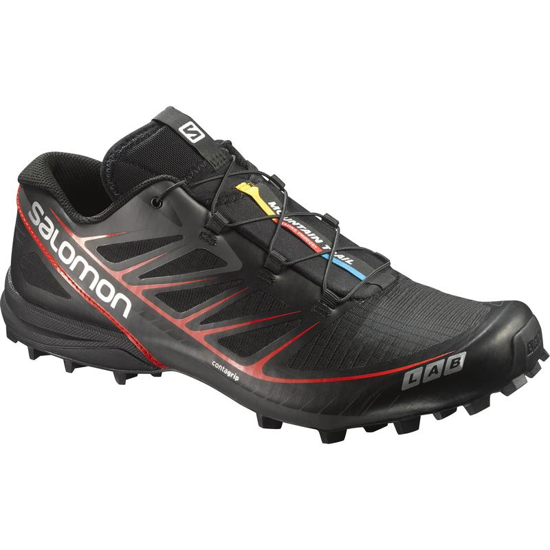 Salomon S-Lab Speed: Black-Trail Running Shoes-Likeys