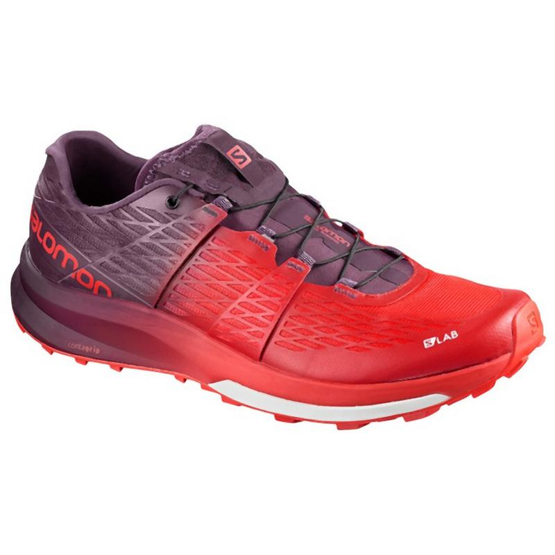 Salomon S/LAB ULTRA 2: Racing Red Maverick-Trail Running Shoes-Likeys