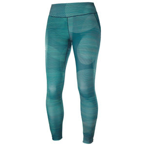 Salomon Women's Agile Long Tight-Leggings-Large-Waterfall/Reflecting Pond-Likeys