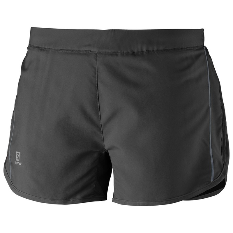 Salomon Women's Agile Short: Black-Shorts-Likeys