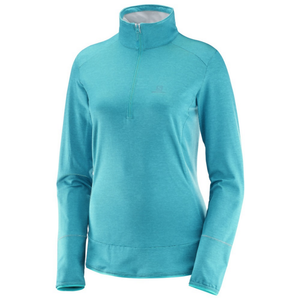 Salomon Women's Discovery HZ: Enamel Blue-Fleeces-Likeys