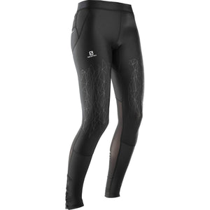 Salomon Women's Intensity Long Tight: Black-Leggings-Likeys