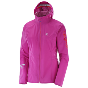 Salomon Women's Lightning Pro Jacket: Rose Violet-Jackets-Likeys