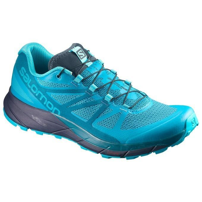Salomon Women's Sense Ride: Bluebird-Trail Running Shoes-Likeys