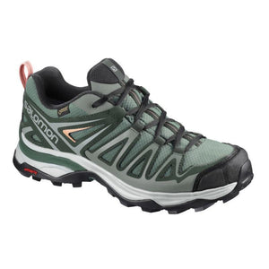 Salomon Women's X Ultra 3 Prime GTX: Balsam-Trekking Shoes-Likeys