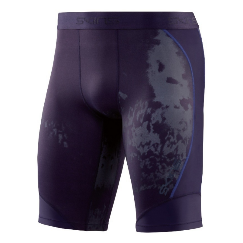 Skins Men's DNAmic 1/2 Tights: Specter Mariner-Shorts-Likeys