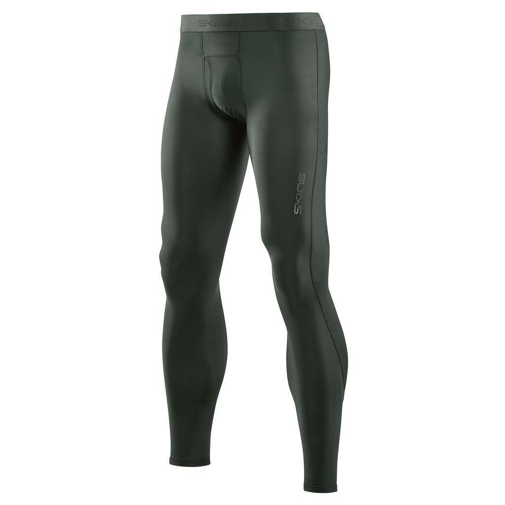 929c711542849 Skins Men's DNAmic Sport Recovery Long Tights: Black-Leggings-Likeys