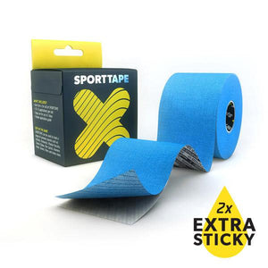 Sporttape Extra Sticky Tape: Blue-First Aid & Emergency-One Size-Likeys