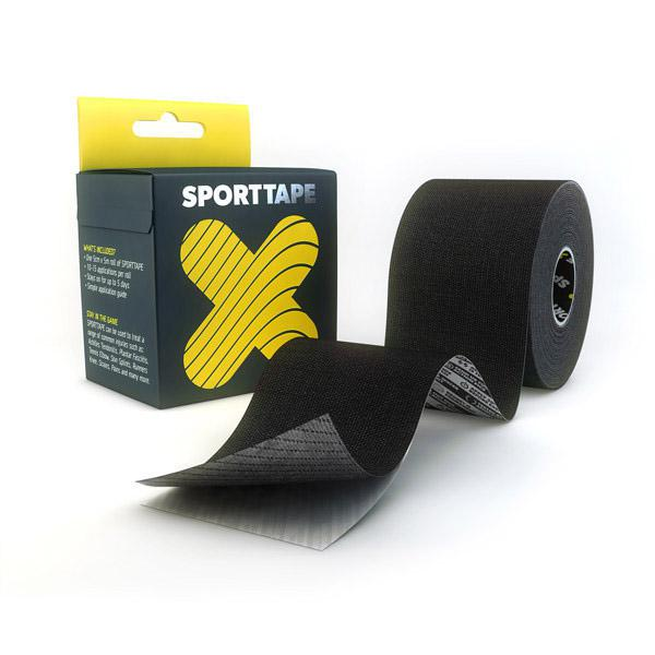 Sporttape Tape: Black-First Aid & Emergency-One Size-Likeys
