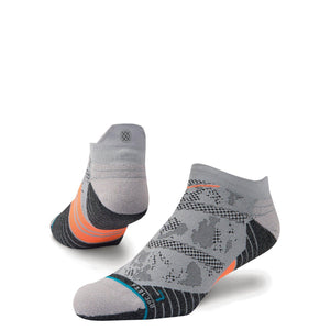 Stance Run Mens Aspire Tab: Grey-Socks-Likeys