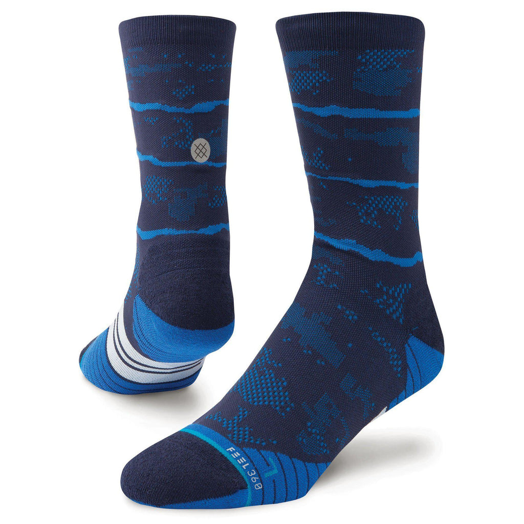 Stance Run Mens Mesa Crew: Royal-Socks-Likeys