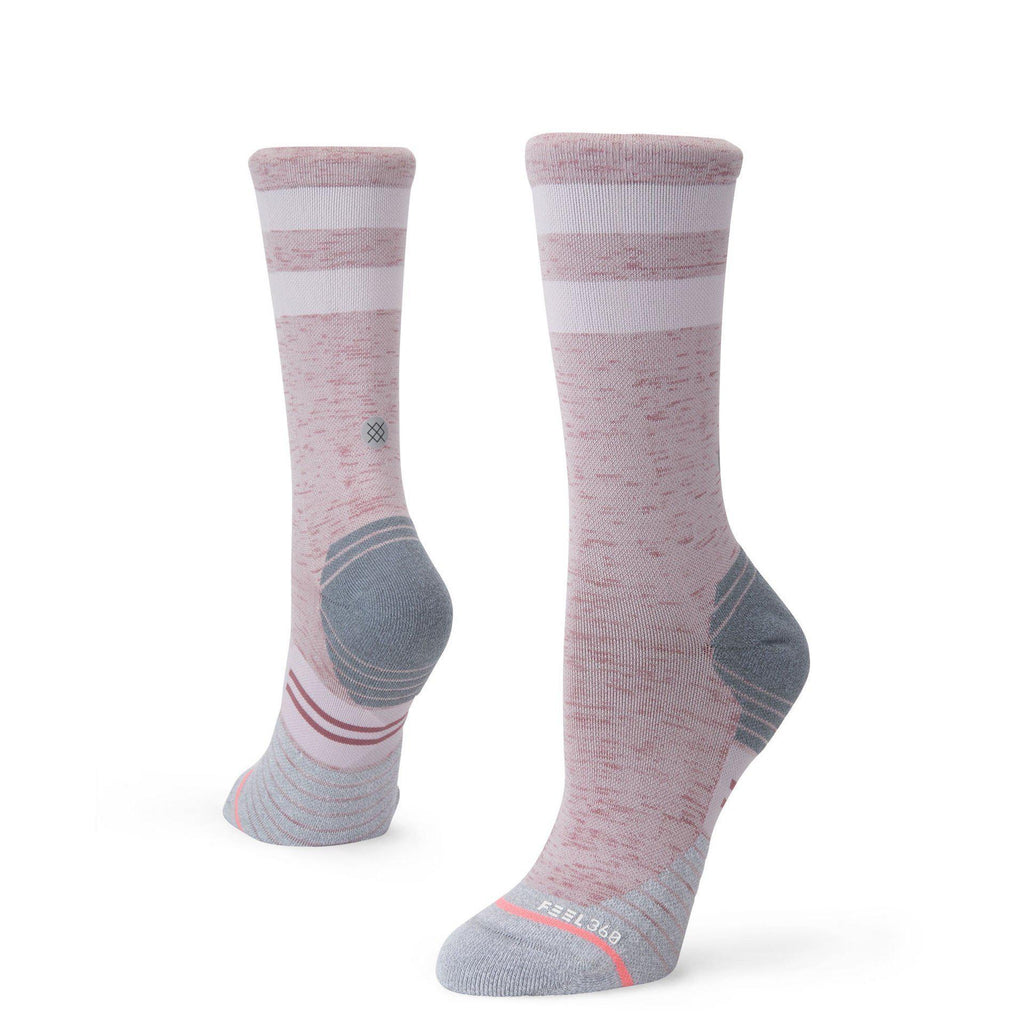 Stance Run Womens Distance Crew: Grey-Socks-Likeys