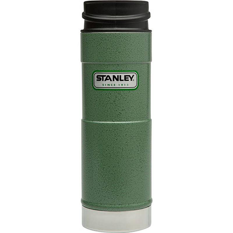 Stanley Classic One Hand Vacuum Mug 473ml: Green-Hydration-One Size-Likeys