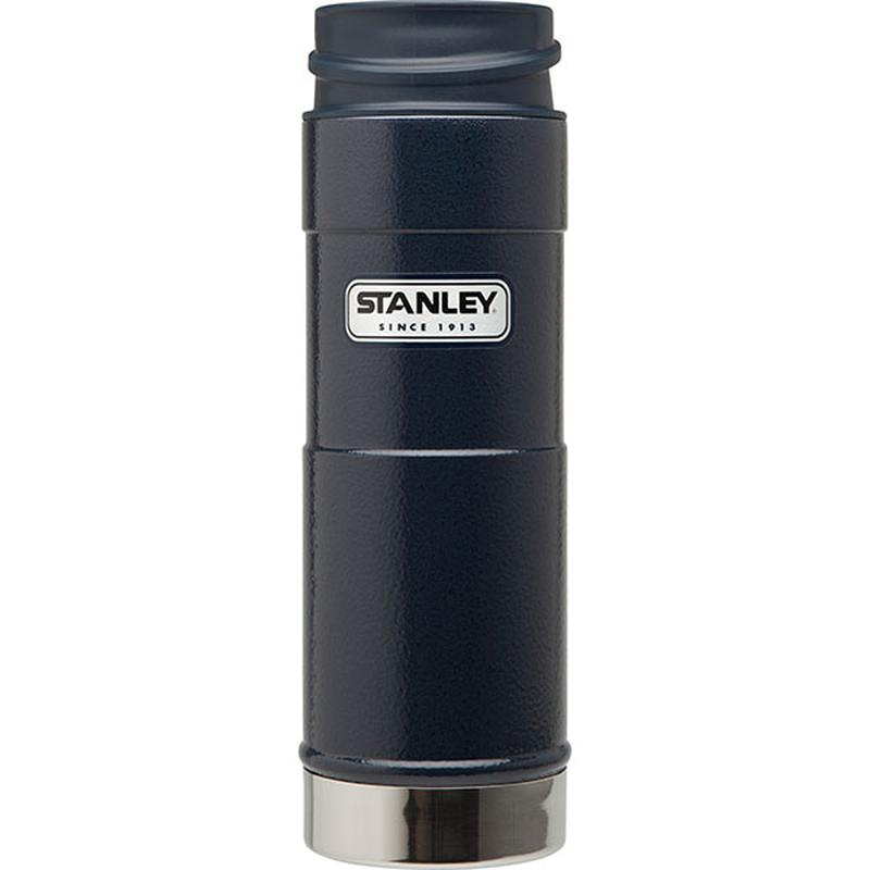 Stanley Classic One Hand Vacuum Mug 473ml: Navy-Hydration-One Size-Likeys