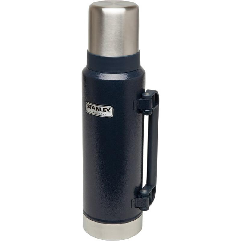 Stanley Classic Ultra Vacuum Bottle 1.3L: Navy-Hydration-One Size-Likeys