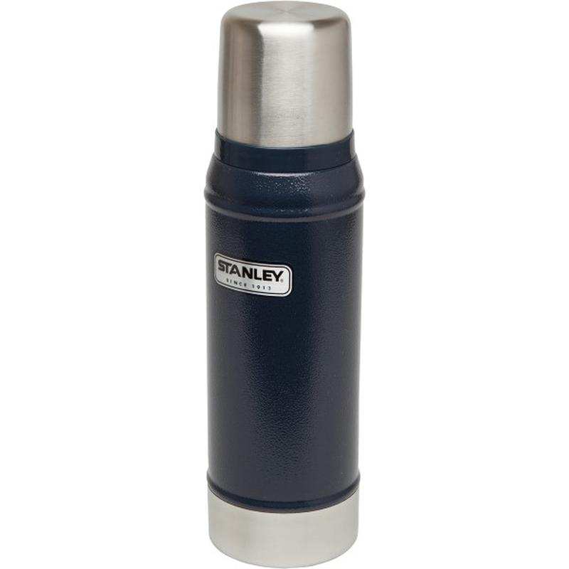 Stanley Classic Vacuum Bottle 473ml: Navy-Hydration-One Size-Likeys