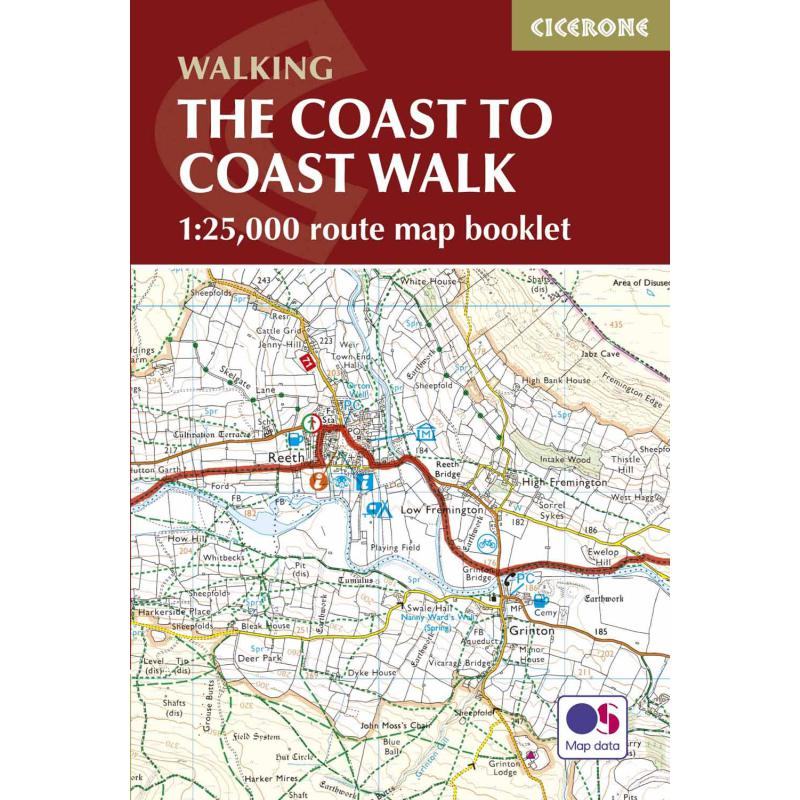 The Coast To Coast Map Booklet-Maps & Books-One Size-Likeys