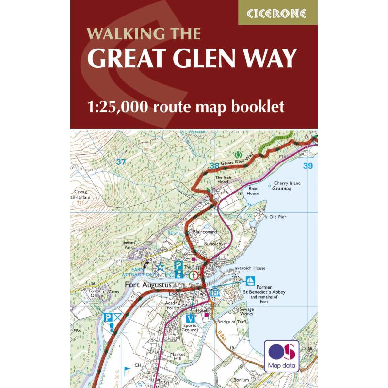 The Great Glen Way Map Booklet-Maps & Books-One Size-Likeys
