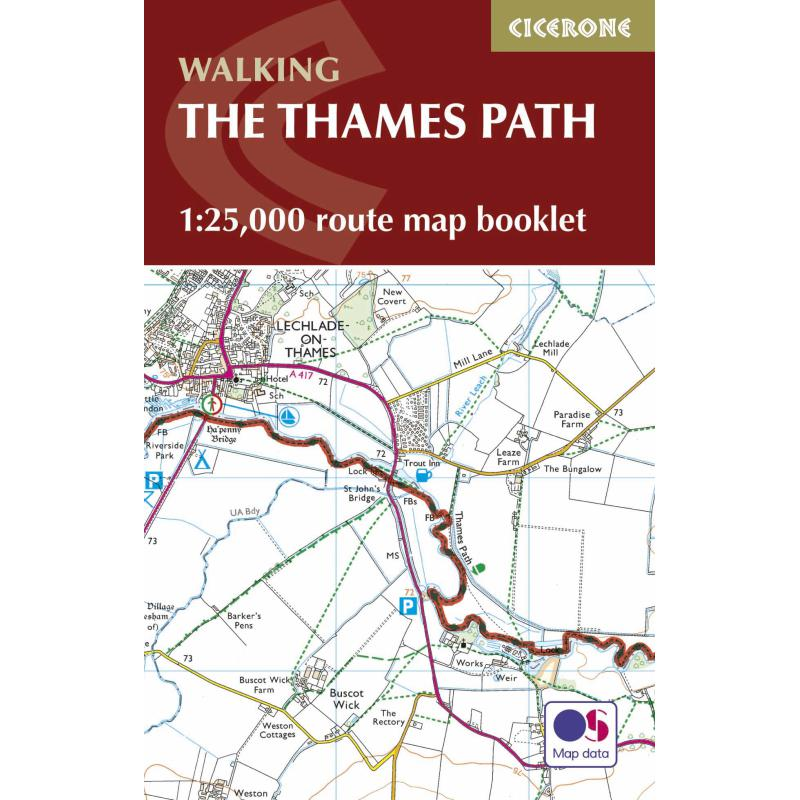 The Thames Path Map Booklet-Maps & Books-One Size-Likeys
