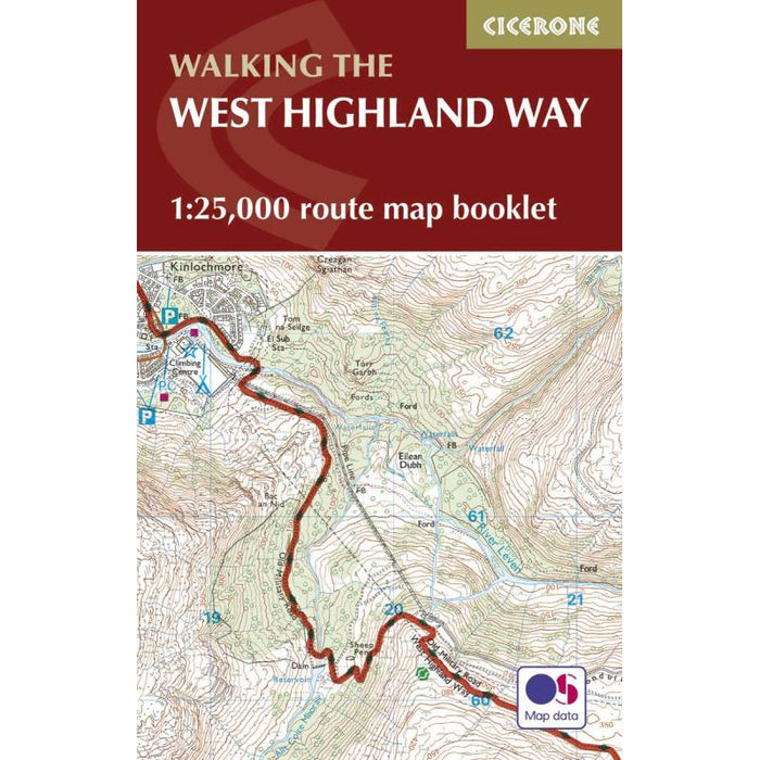 The West Highland Way Map Booklet