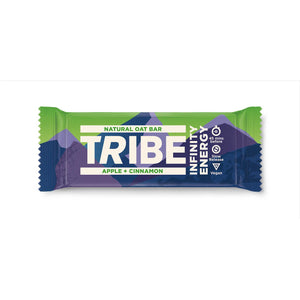 Tribe Infinity Natural Oats Energy Bar-Food & Nutrition-Apple & Cinnamon-Single-Likeys