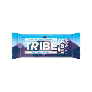 Tribe Infinity Natural Oats Energy Bar-Food & Nutrition-Choc Salt Caramel-Single-Likeys