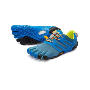 Vibram Men's Five Fingers V-Trail: Tapestry/Blue-Trail Running Shoes-Likeys