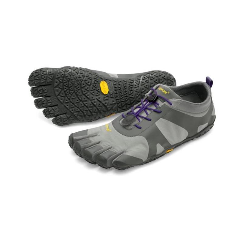 Vibram Women's Five Fingers V-Alpha: Grey/Violet-Trekking Shoes-Likeys