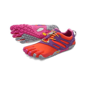 Vibram Women's Five Fingers V-Trail: Magenta/Orange-Trail Running Shoes-Likeys