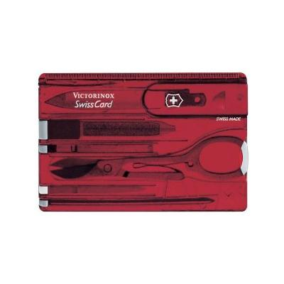 Victorinox Jelly Swiss Card Red-Knives & Multitools-One Size-Likeys