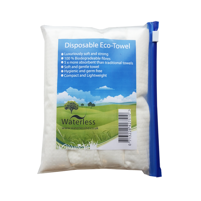 Waterless Disposable Eco-Towel