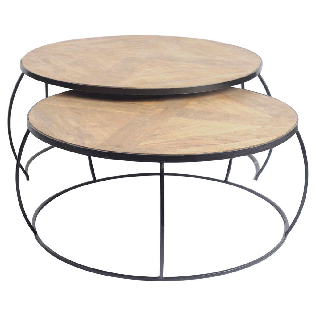WILSON NESTING COFFEE TABLES