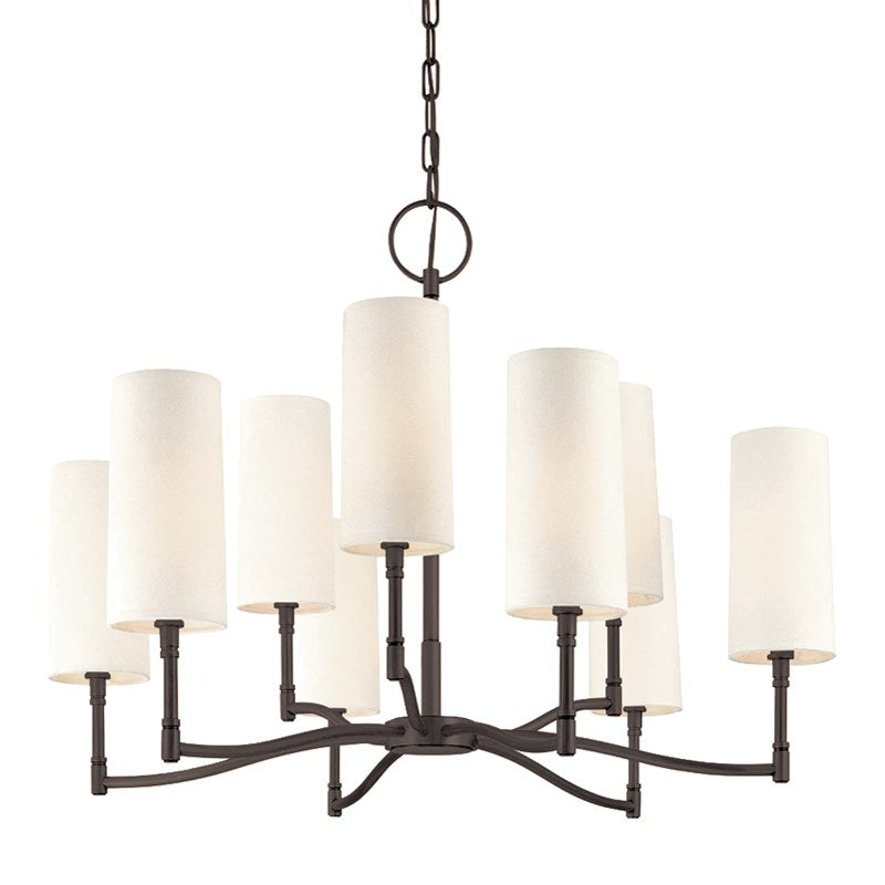 OLD BRONZE DILLON CHANDELIER