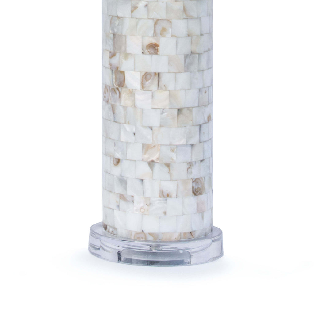 MOTHER OF PEARL LAMP