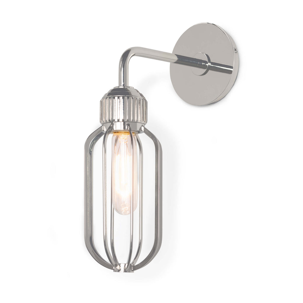 RUPERT SCONCE (POLISHED NICKEL)