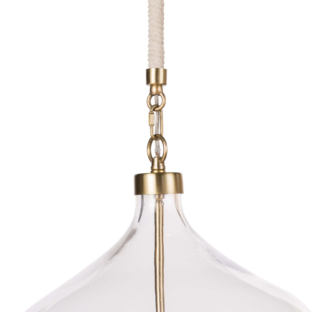 DOVER PENDANT (NATURAL BRASS)
